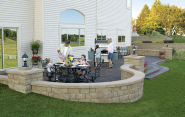 landscaping patio ideas with free patio plan downloads - Patio Idea