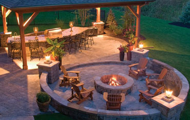 Large Patio Plan, Large Patio
