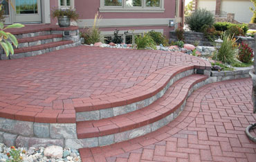 Landscaping patio ideas with free patio plan downloads
