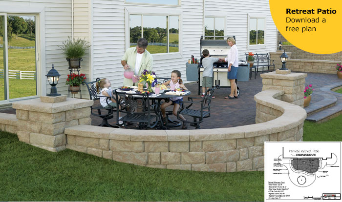 Attrayant Landscaping Design Ideas St Louis Patio And Retaining Wall HardscapeSTL
