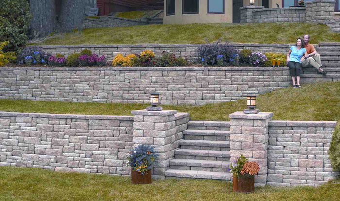 landscape retaining wall ideas